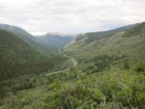Highway 50 west to Monarch Pass