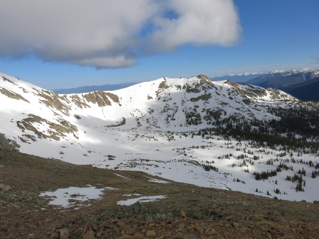 Snowed in early June
