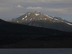 Mount Massive on Sunday morning.